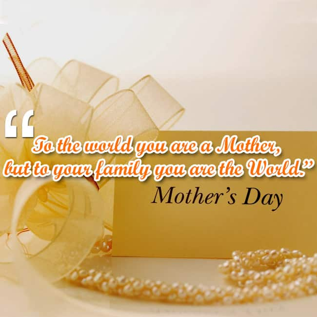 Mother   s Day quote