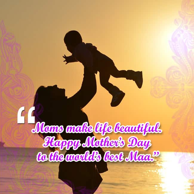 Mother   s Day wishes