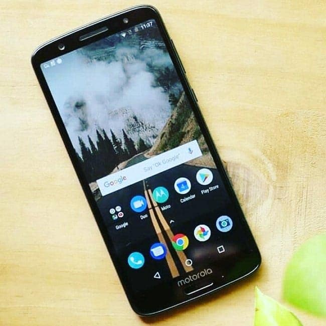 Moto G6 and Moto G6 Play camera features