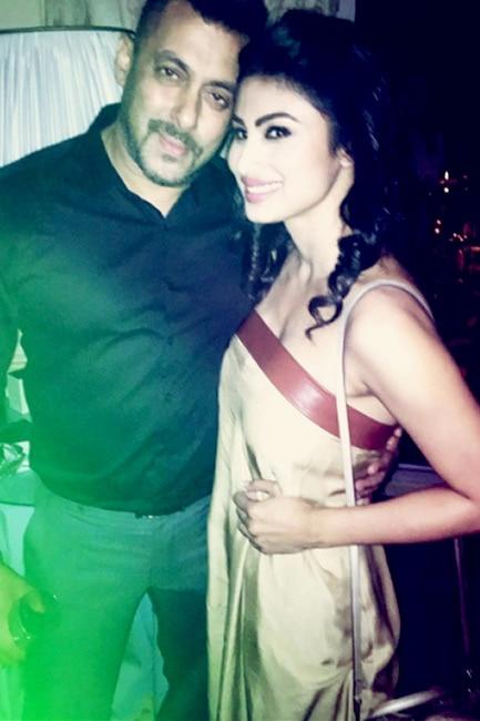 Mouni Roy had a fan girl moment with Salman Khan in Madrid