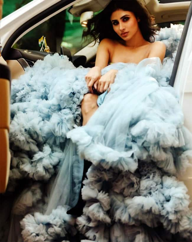 Mouni Roy wears a dreamy gown for latest photoshoot