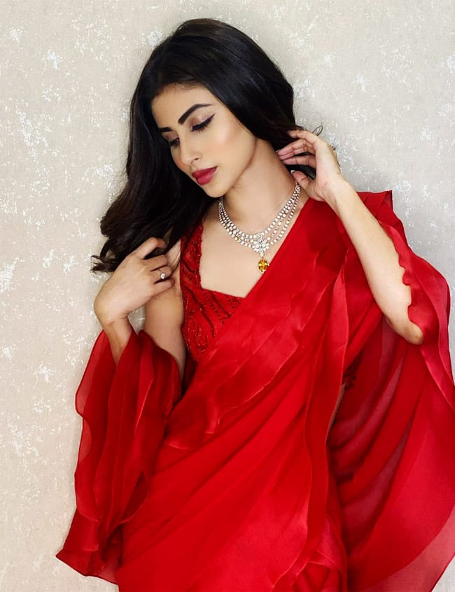 Mouni Roy wears a saree that cost Rs 30,000