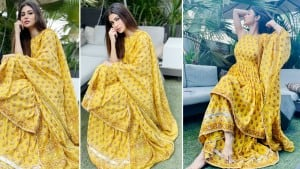 Mouni Roy In Yellow Traditional Attire Is The Sunshine You Need To Brighten Up Your Day - See Pics