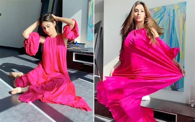 Mouni Roy s Breathtaking Pictures in Vibrant Pink