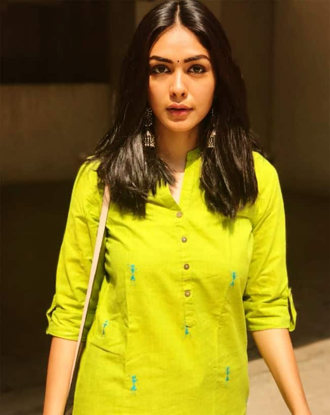 Mrunal Thakur Fashion Moments