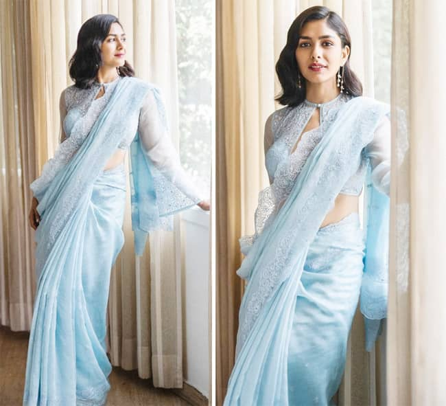Mrunal Thakur   s latest pictures are gorgeous and how
