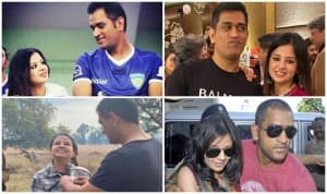 10 Dhoni-Sakshi PICS That Will Make You Believe in Love