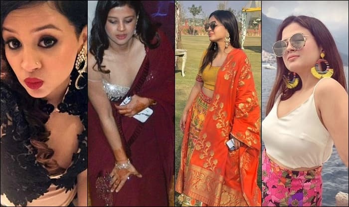 MS Dhoni s Wife Sakshi s photos