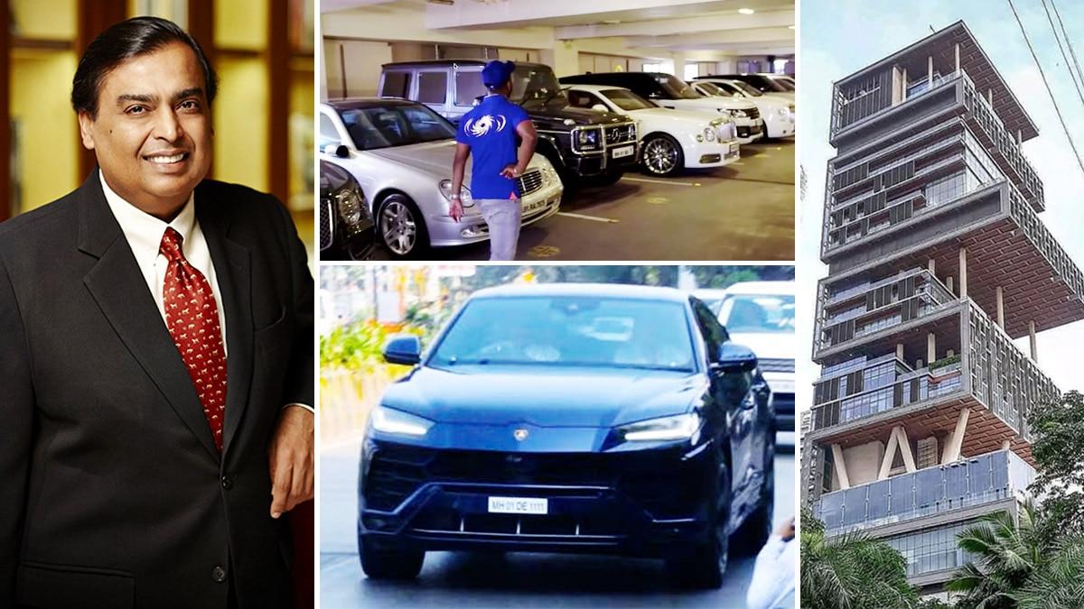 Mukesh Ambani and his stunning collection of cars