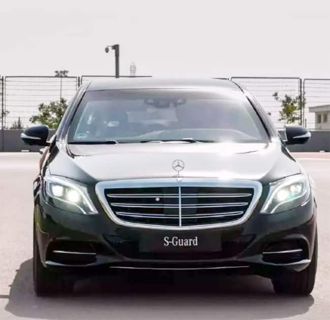 Mukesh Ambani usually uses Mercedes Benz E Class which is bulletproof