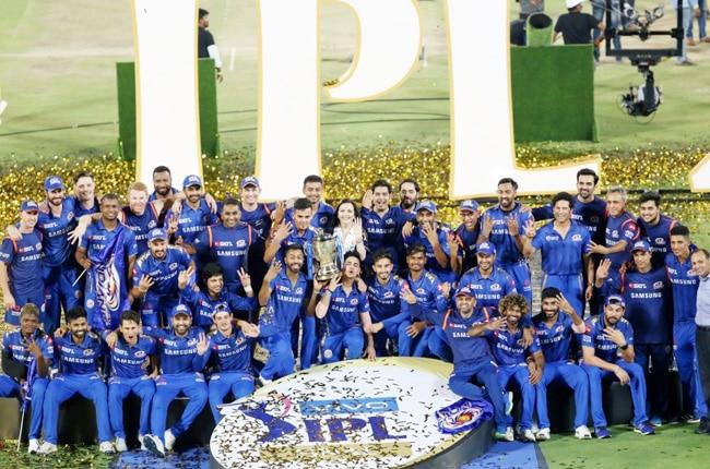 Mumbai Indians Are The IPL 2019 Champions