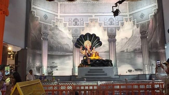 Mumbai s Lalbaugcha Raja pandal in Vishnu avatar this year