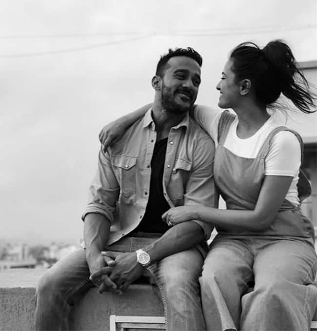 Naagin 3 Actress Anita Hassanandani and Rohit Reddy is making headlines for their PDAs