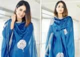 Naagin 5 Fame Hina Khan Wears Blue Ethnic Wear, Silver Jewellery And Smokey Eyes, Looks Stunning