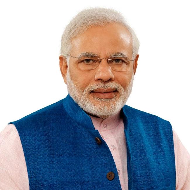 Narendra Modi tops the list