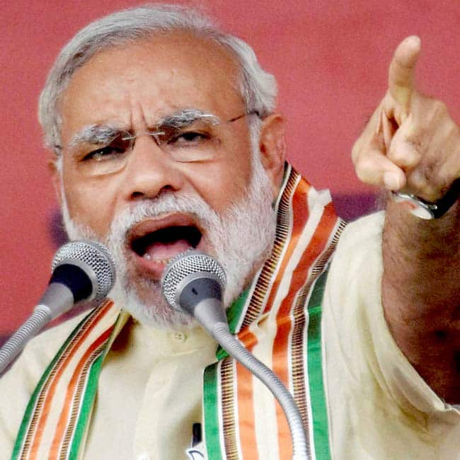 Narendra Modi   s reaction towards Pakistan for Indus Water Treaty