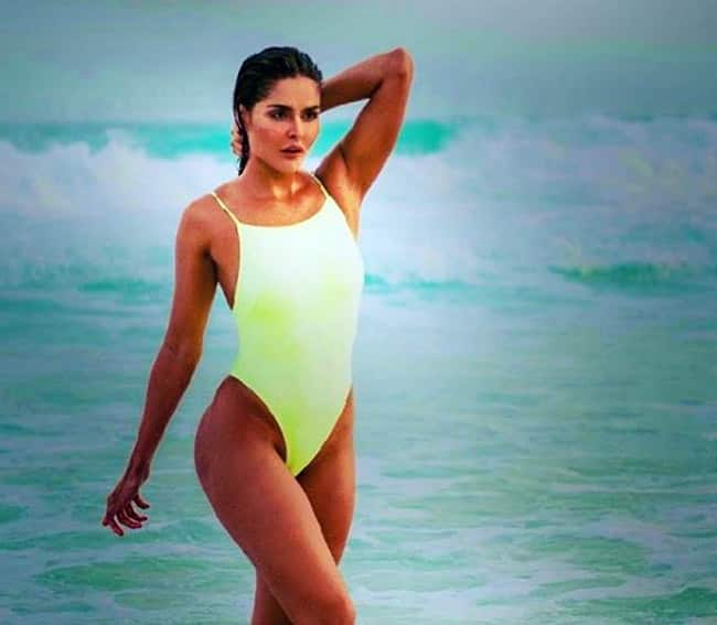 Nathalia Kaur is a Brazilian model turned Indian actress