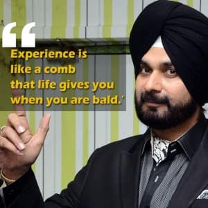 10 inspirational quotes by Navjot Singh Sidhu that will make your day!
