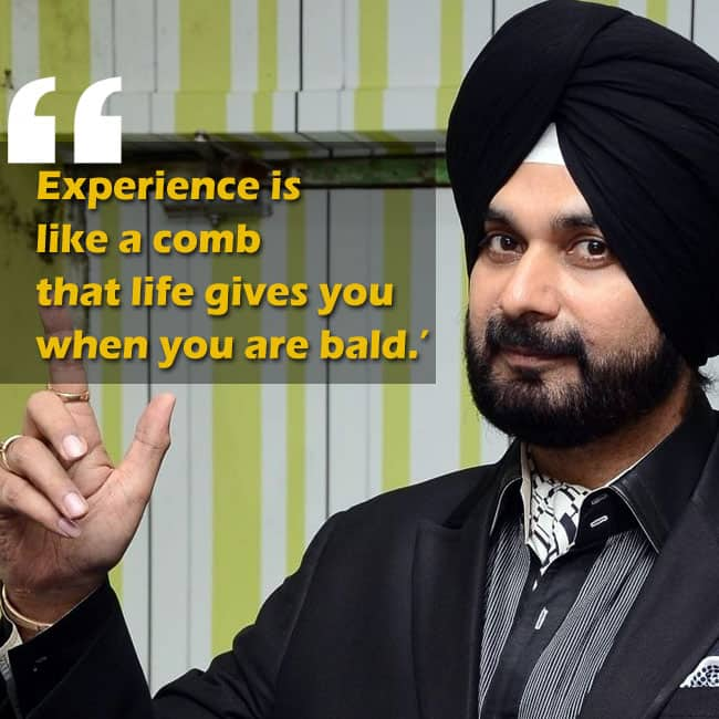 Navjot Singh Sidhu   s motivational quote about life