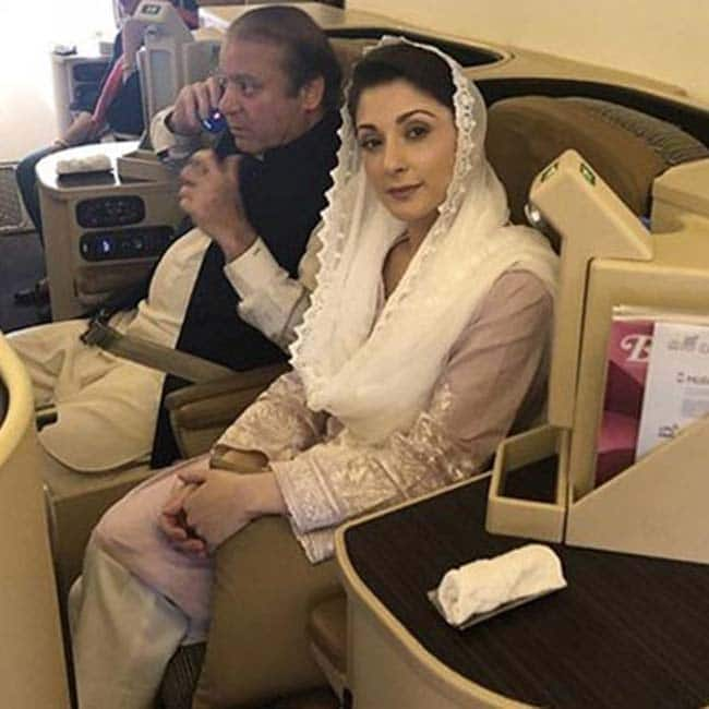 Nawaz Sharif  Daughter Maryam Provided B Class Facilities Due to Their Social Status