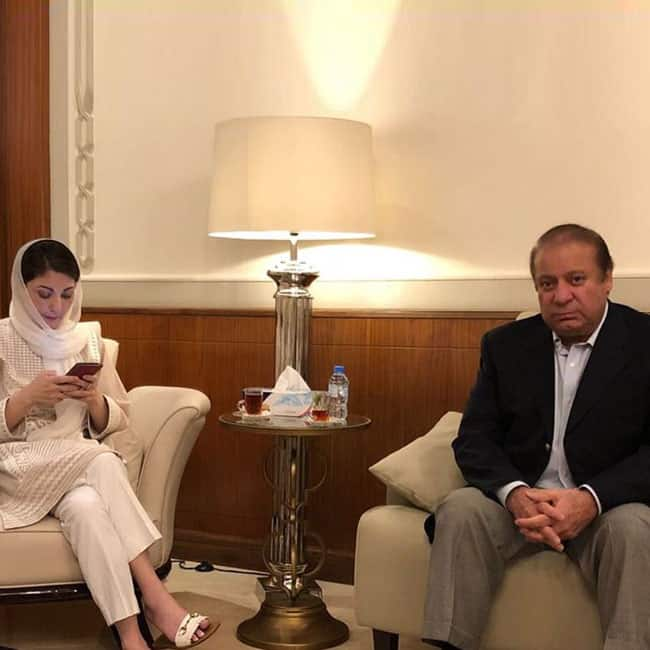Nawaz Sharif  Daughter to Arrive at Pakistan Today