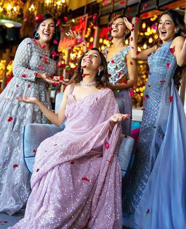 Neeti Mohan Ditches Groom Nihaar Pandya  Gets Pre wedding Photoshoot Done With Sisters