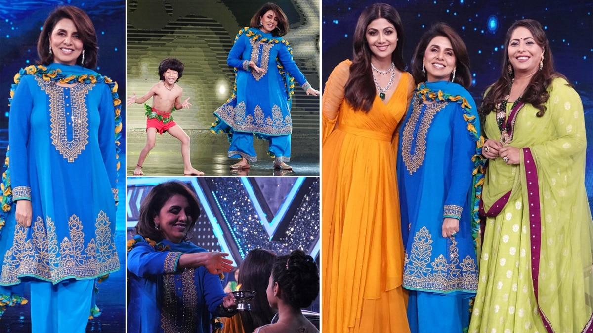 Neetu Kapoor graces Super Dancer 4 after Indian Idol 12