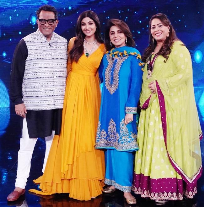 Neetu Kapoor rocks the stage of Super Dancer 4