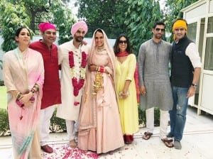 Neha Dhupia And Angad Bedi's Post Marriage Pictures With Friends