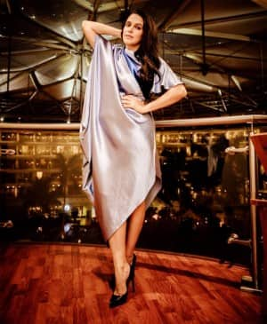 Neha Dhupia Shares Her Throwback Pictures of Good Times, Sizzles in a Stunning Silver Dress