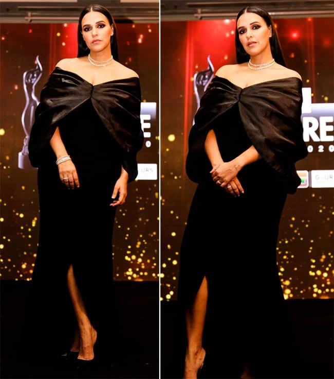 Neha Dhupia  The Lady in Black