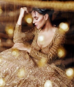 Neha Dhupia's Bridal Photoshoot is a Guide For Brides Who Love Minimum Glam in Their Looks