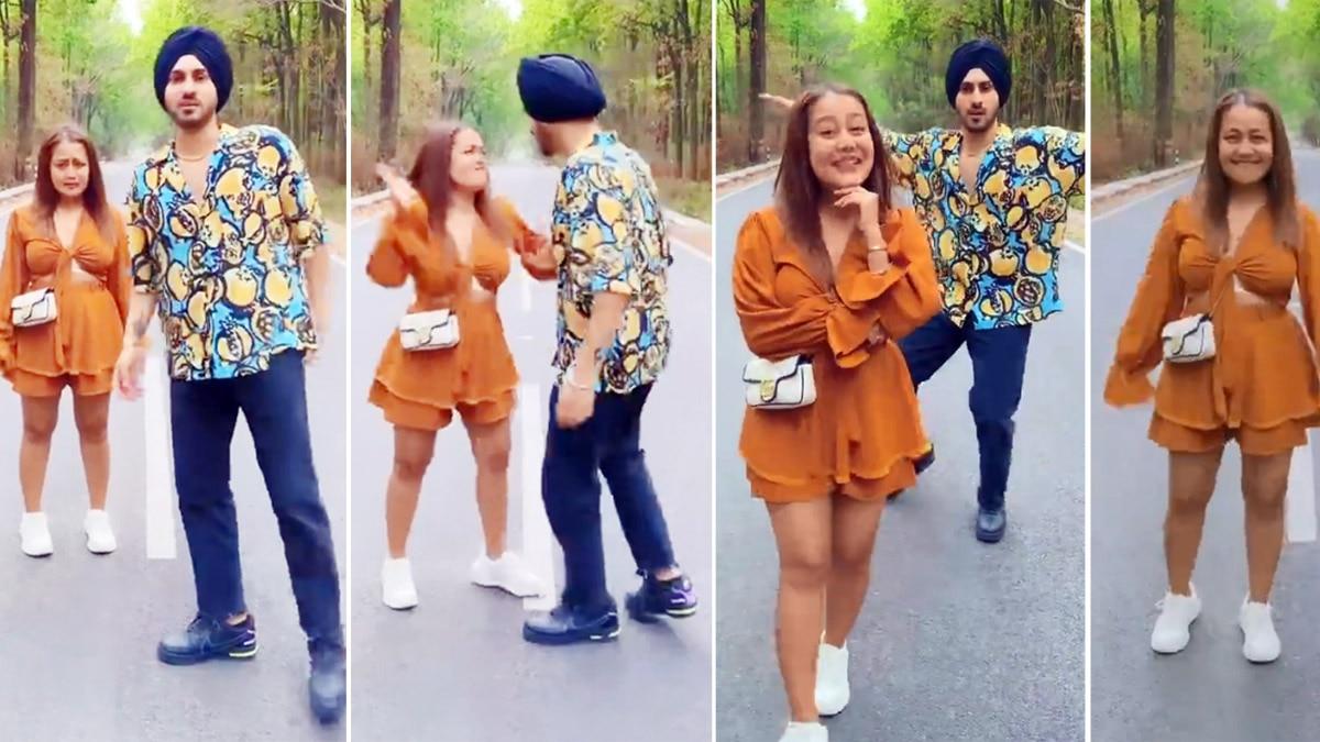 Neha Kakkar and Rohanpreet Singh share beautiful chemistry in new song