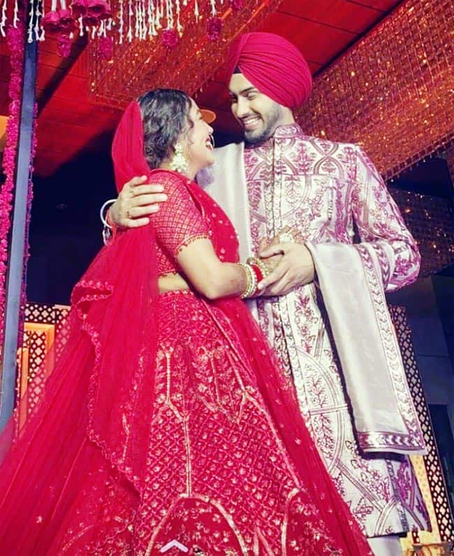 Neha Kakkar bridal look out