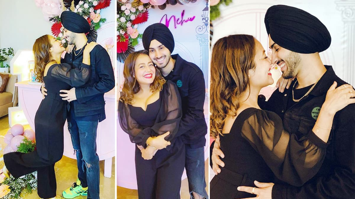 Neha Kakkar Celebrates Her First Birthday With Hubby Rohanpreet Singh
