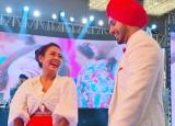 Neha Kakkar-Rohanpreet Singh Sangeet Ceremony: Neha in Traditional Chooda Dances Her Heart Out