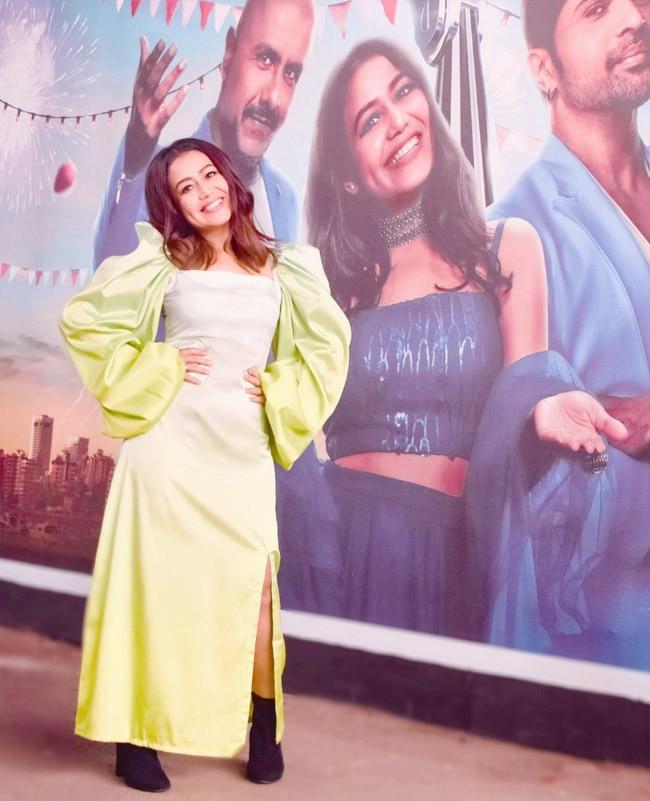 Neha Kakkar Looks Straight Out of Fairytale in This Green Midi Dress