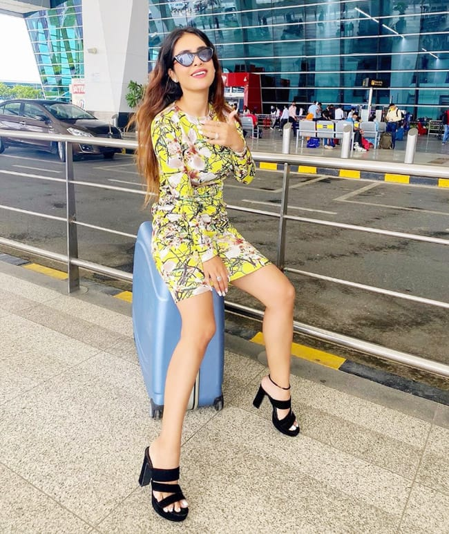 Neha Malik always manages to grab the attention of her fans