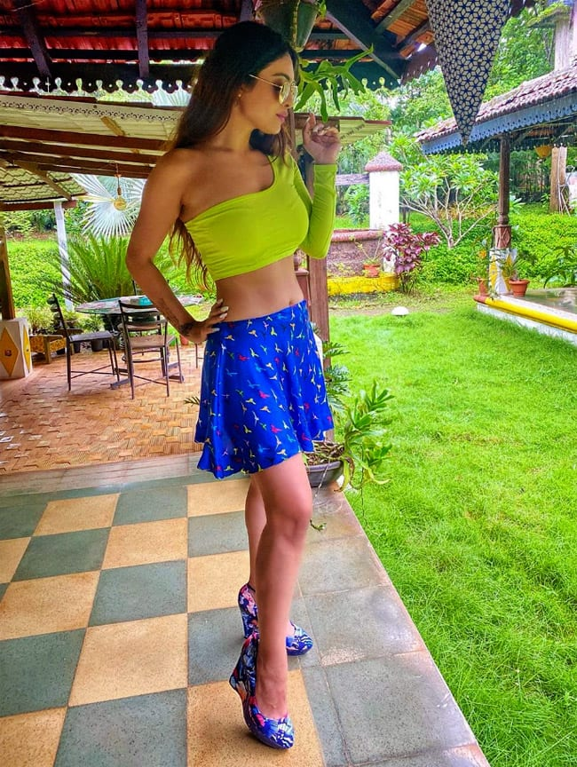 Neha Malik Shares Her Pictures From Goa Vacay