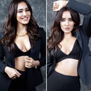 Neha Sharma Spells The Black Magic in Sexy Bralette And Blazer in Her Sultry Photoshoot
