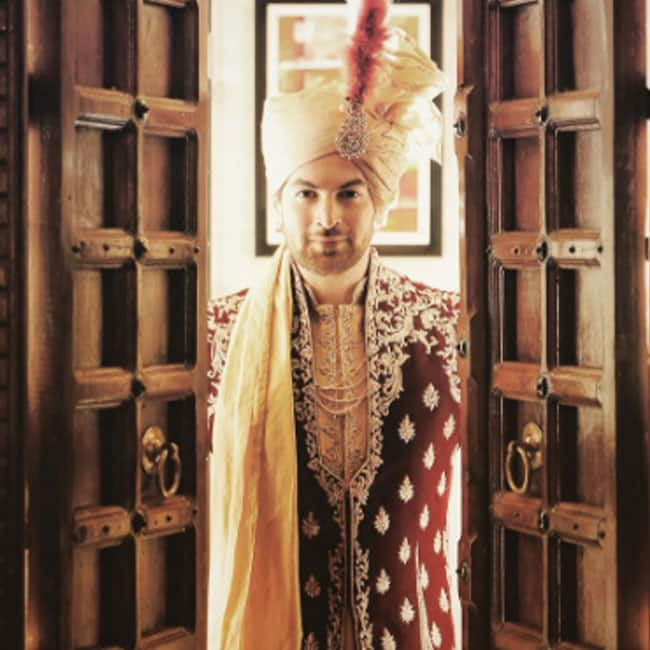 Neil Nitin Mukesh as a groom on his wedding day