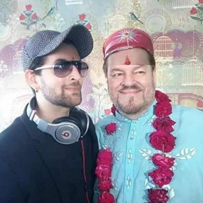 Neil Nitin Mukesh with father in Udaipur commences wedding celebrations