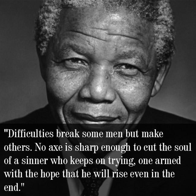 Nelson Mandela Speaking On Courage Nelson Mandela International