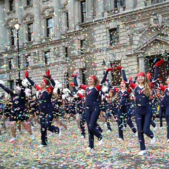New Year parade in London
