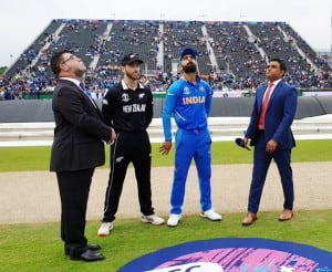 India vs New Zealand: Rain Plays Spoilsport as World Cup 2019 Semifinal to Continue on Wednesday- As it Happened