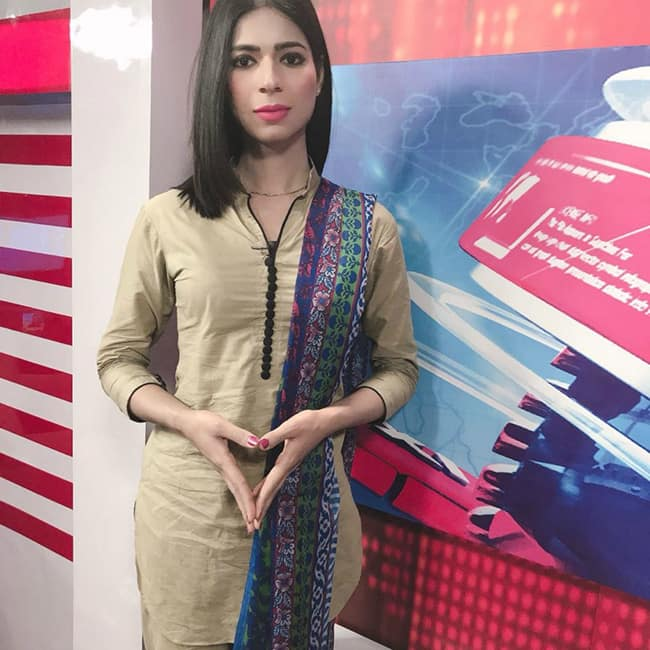 News anchor Marvia Malik snapped in newsroom