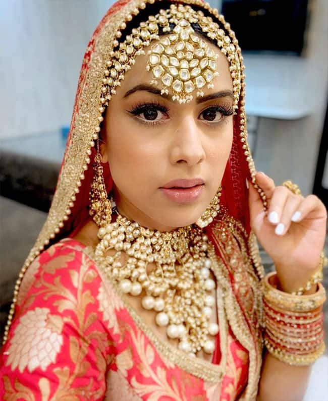 Nia Sharma becomes a bride in Naagin 4