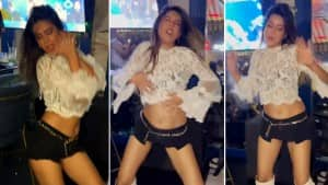 Nia Sharma Flaunts Her Sexy Dance Moves On 'Do Ghoont' In White Crop Top And Hot Pants | See Pics