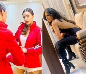 'Naagin 4' Actor Nia Sharma Raises Mercury This Winter With Her Drool-Worthy Pictures in Red Jacket And Backless Dress
