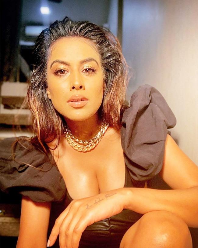 Nia Sharma Flaunts Her Sexy Looks